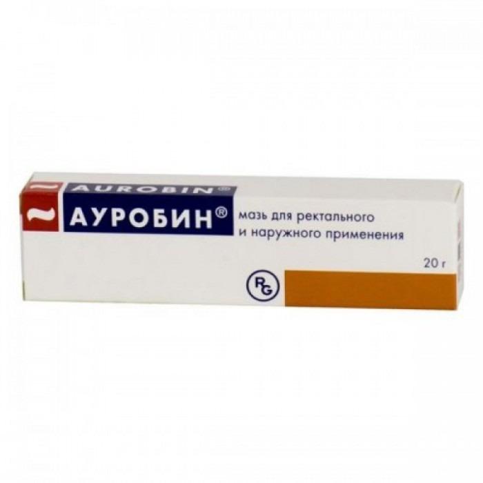 Aurobin 20g ointment