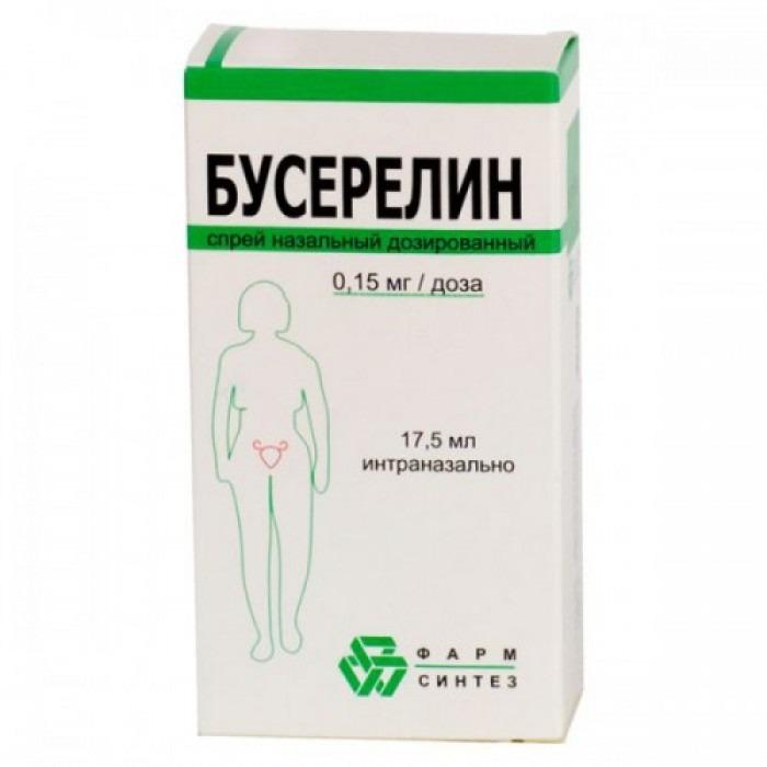 Buserelin 0.15% 17.5ml nasal spray