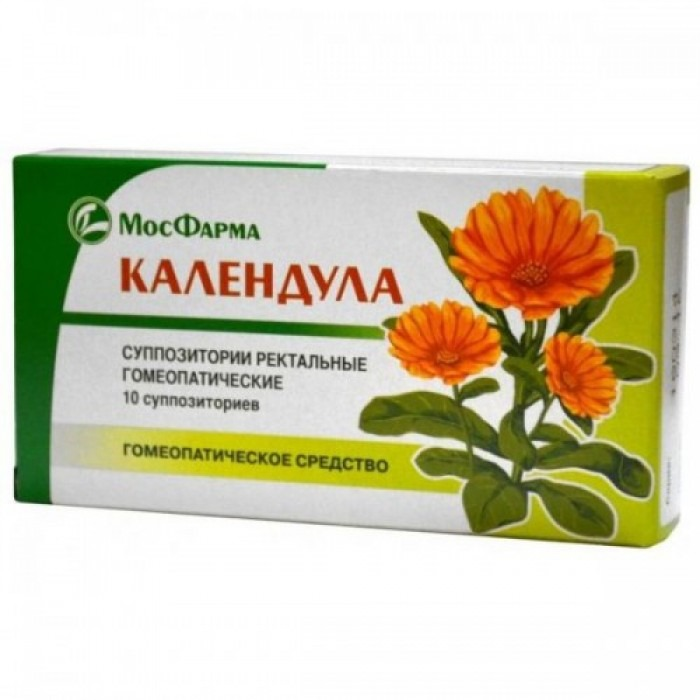 Calendula suppositories, ointment 30g ointment, 10 suppositories,