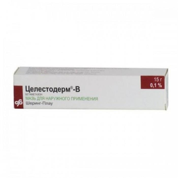 Celestoderm (Betamethasone) ointment, cream 15g ointment, 15g cream, 30g ointment, 30g cream,