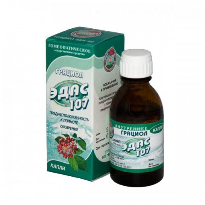 Gratiol Edas-107 25ml drops