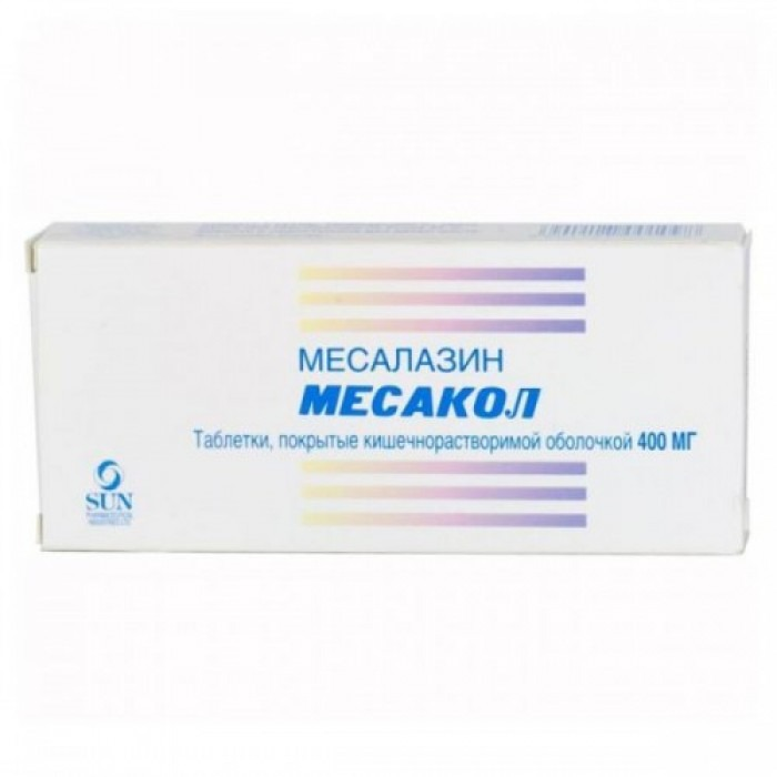 Mesacol (Mesalazine) 400mg 50 tablets
