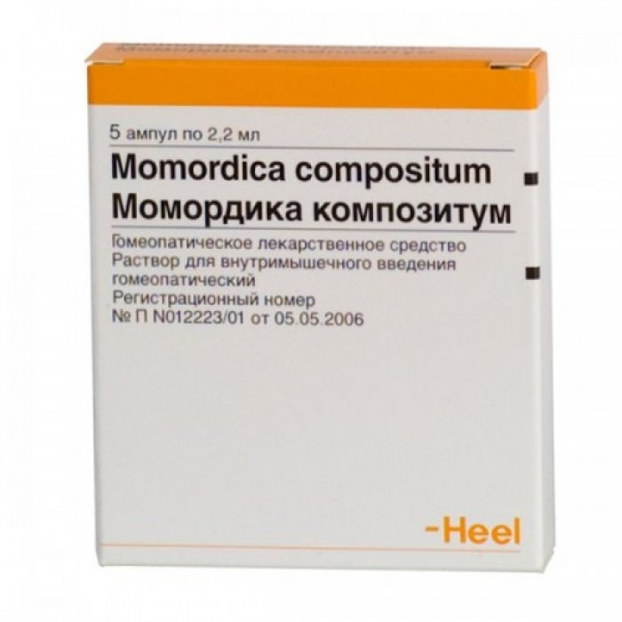 Momordica compositum 2.2ml 5 vials