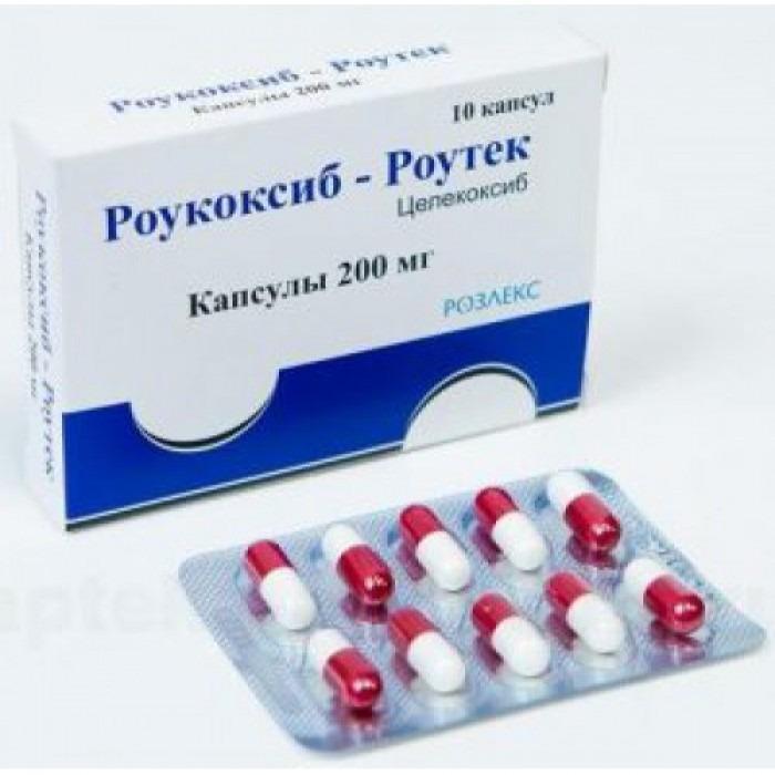 Rowcoxib-Rowtech (Celecoxib) 200mg 10 capsules