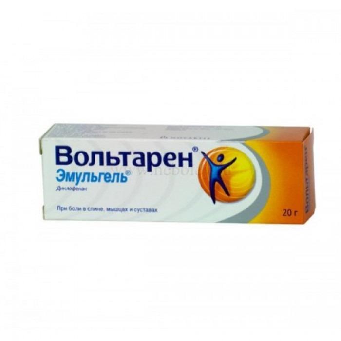 Voltaren Emulgel (Diclofenac) gel 1% 20g gel, 1% 50g gel, 2% 50g gel, 1% 100g gel, 1% 150g gel, 2% 100g gel,