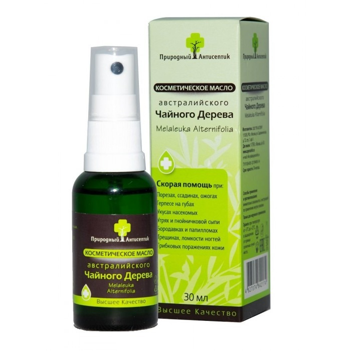 Aspera Natural antiseptic Australian tea cosmetic 30ml Essential oil 30ml - Pharmaceutics