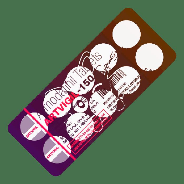 ARTVIGIL® (Armodafinil) 150 mg/tab, 10 tabs - Pharmaceutics