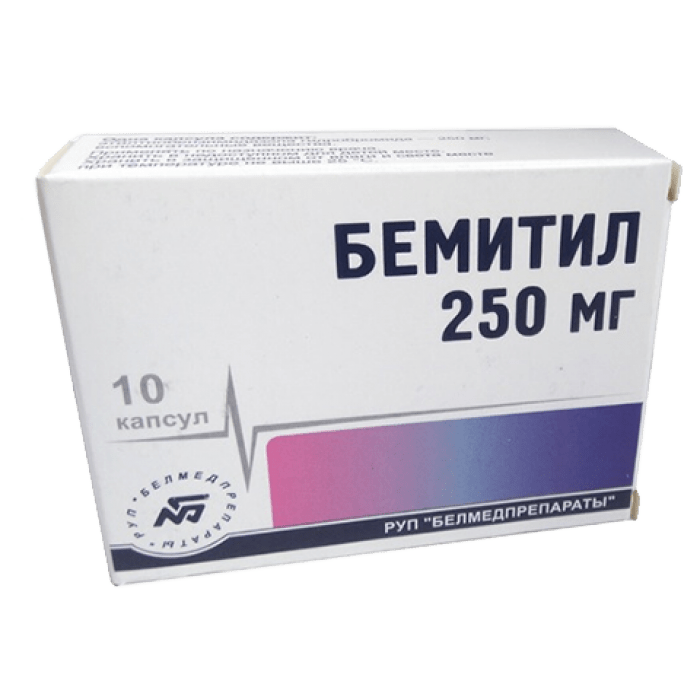 BEMITIL® (Bemethyl, Metaprot) 250 mg/tab, 10-40 tablets - Pharmaceutics