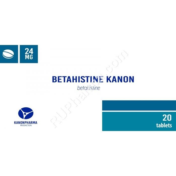 BETAHISTINE (Serc) 16 mg/tab, 30 tabs/pack - Pharmaceutics