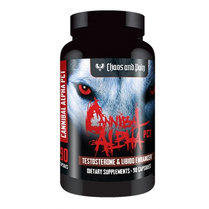 CANNIBAL ALPHA PCT® (Test booster) 90 caps/pack - Pharmaceutics
