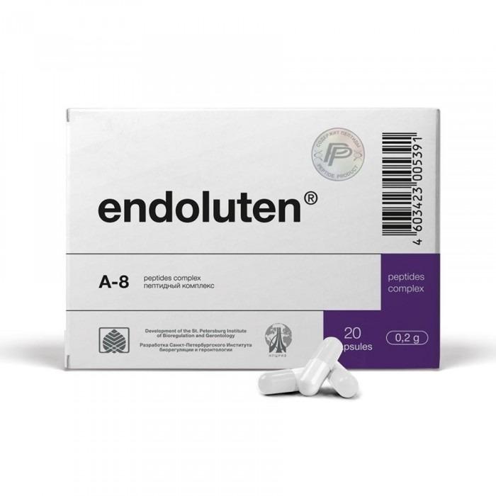 ENDOLUTEN® for neuroendocrine system 200 mg/cap, 20-60 caps - Pharmaceutics