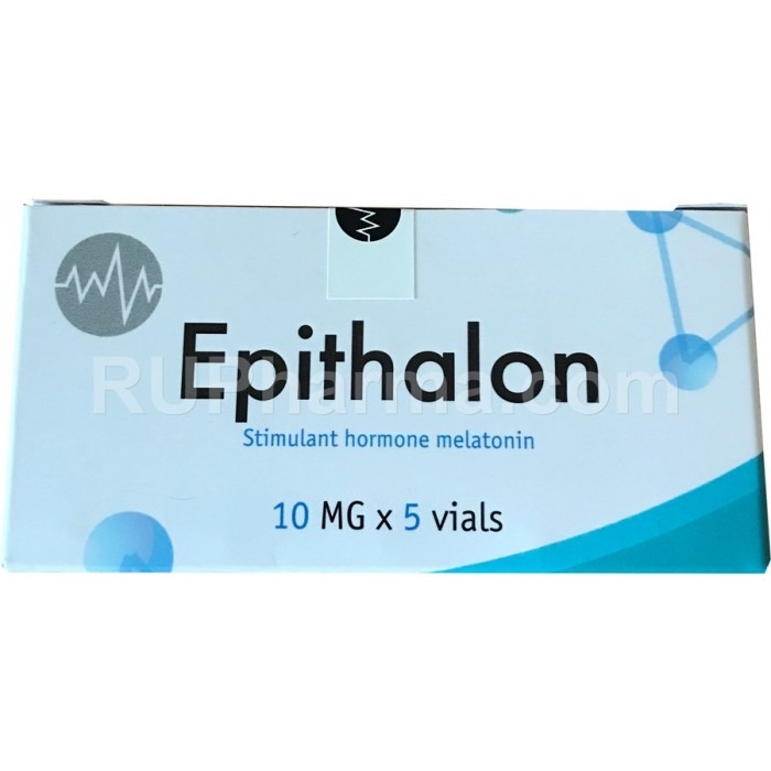 EPITALON 50 mg, 10 mg/vial (5 vials), 10 day course ,&gt98% pure - Pharmaceutics