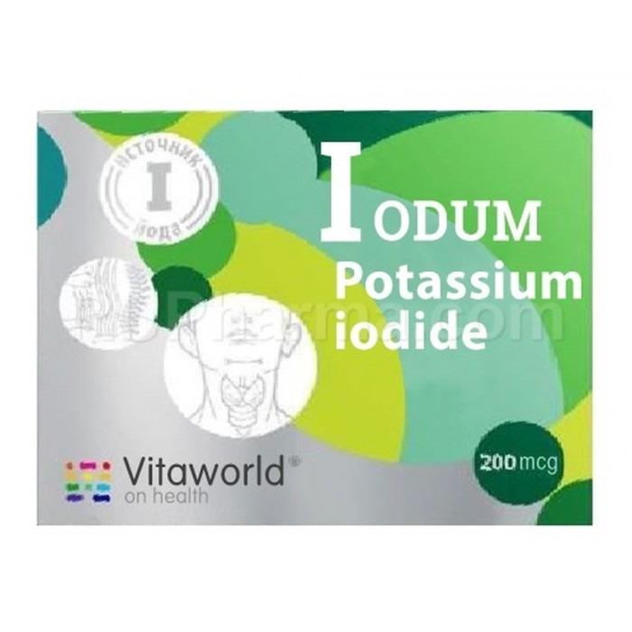 POTASSIUM IODIDE (Everyday Use) 0.2 mg/tab, 100 tabs - Pharmaceutics