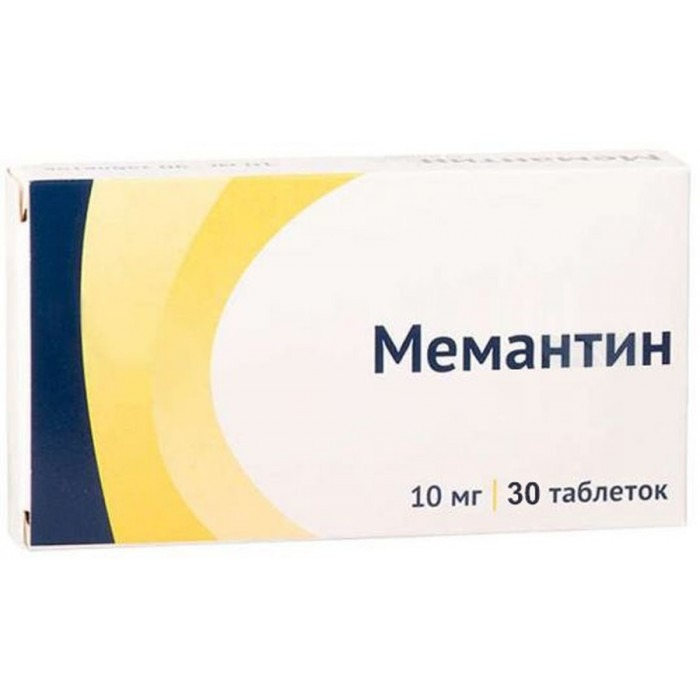 MEMANTINE (Namenda) 10 mg/tab, 30-90 tabs - Pharmaceutics