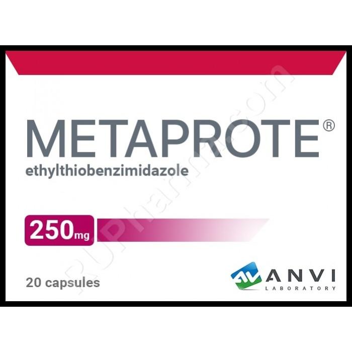 METAPROT® (Metaprote, Bemitil) 250 mg/tab, 20 tabs - Pharmaceutics