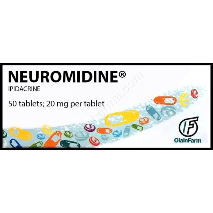NEIROMIDIN® (Ipidacrine) 20 mg/tab, 50 tabs - Pharmaceutics