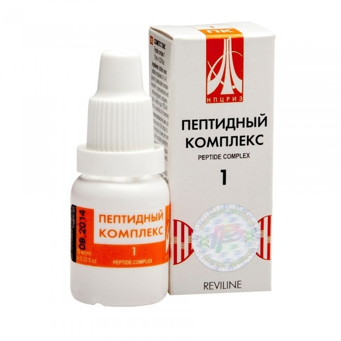 PEPTIDE COMPLEX 01 for arteries and heart, 10ml/vial - Pharmaceutics