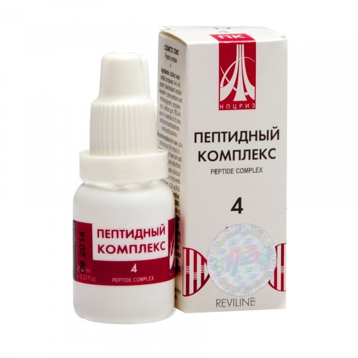 PEPTIDE COMPLEX 04 for spine and joints, 10ml/vial - Pharmaceutics