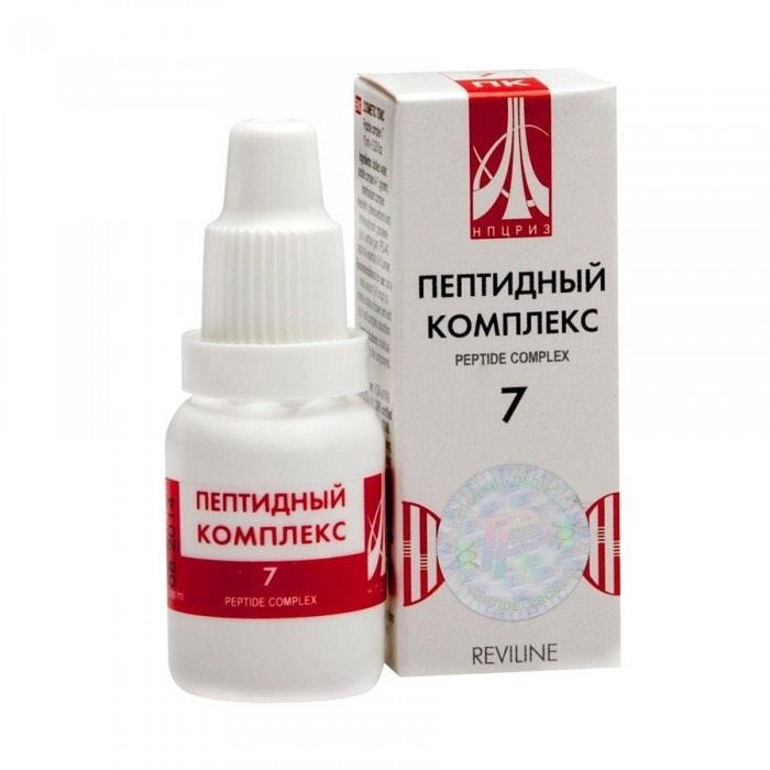 PEPTIDE COMPLEX 07 for pancreas, 10ml/vial - Pharmaceutics