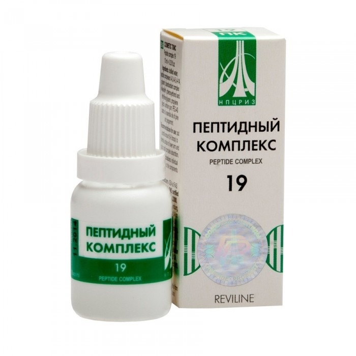 PEPTIDE COMPLEX 19 for weather dependency and migraine, 10ml - Pharmaceutics